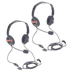 Zeadio ZP-AR025 Foldable Swivel Overhead Headset Earpiece Bo